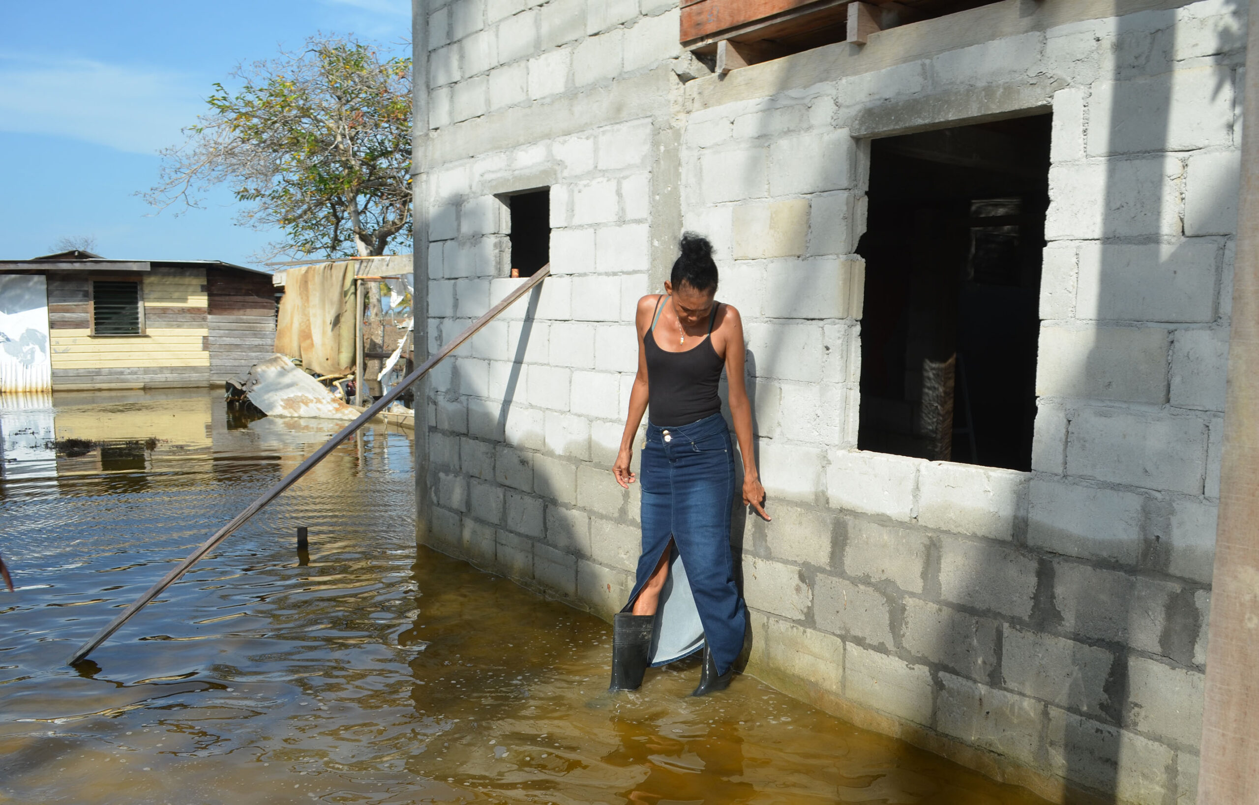 A crumbling coastline and rising tides place Guyana's farmers in peril