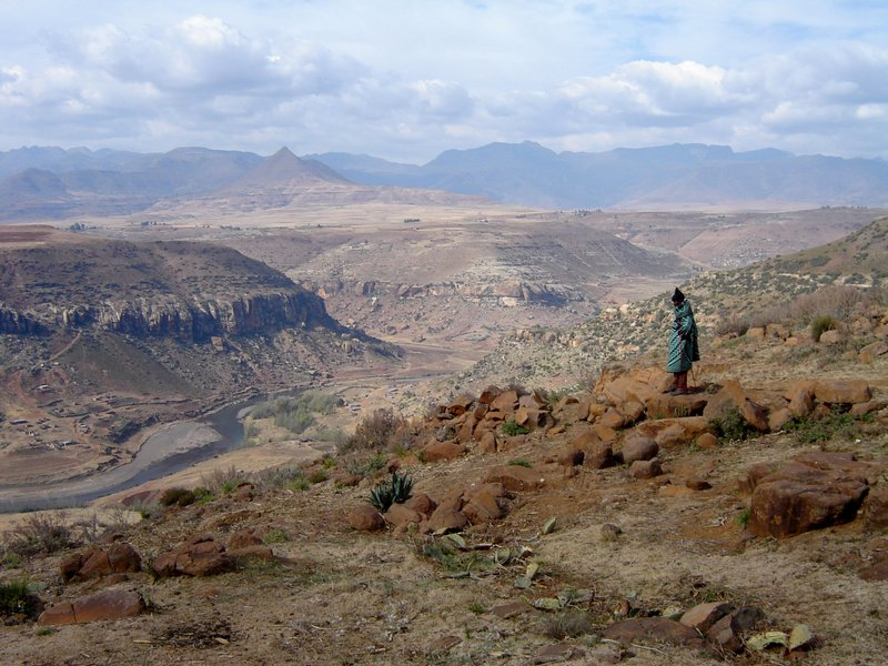 Lesotho wool drought