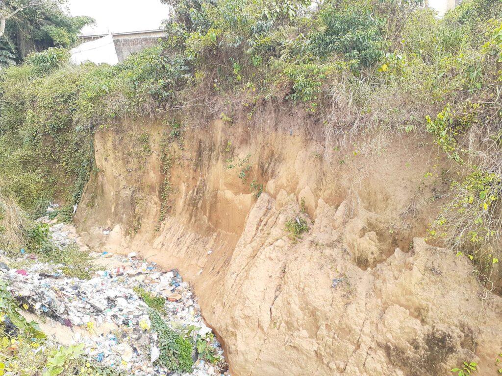 A gully