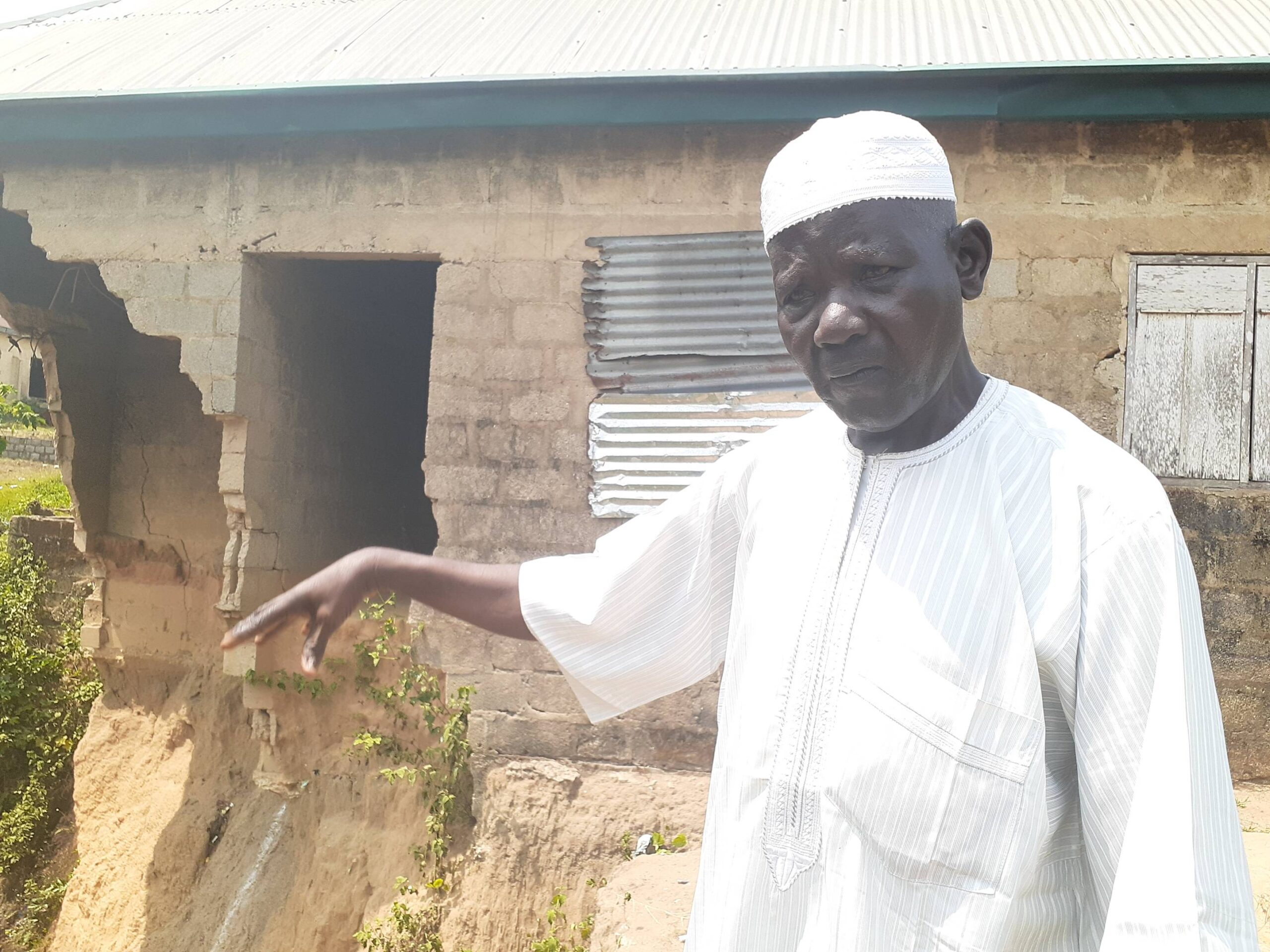 Heavy downpours causing erosion, threatens homes and livelihoods in Nigeria