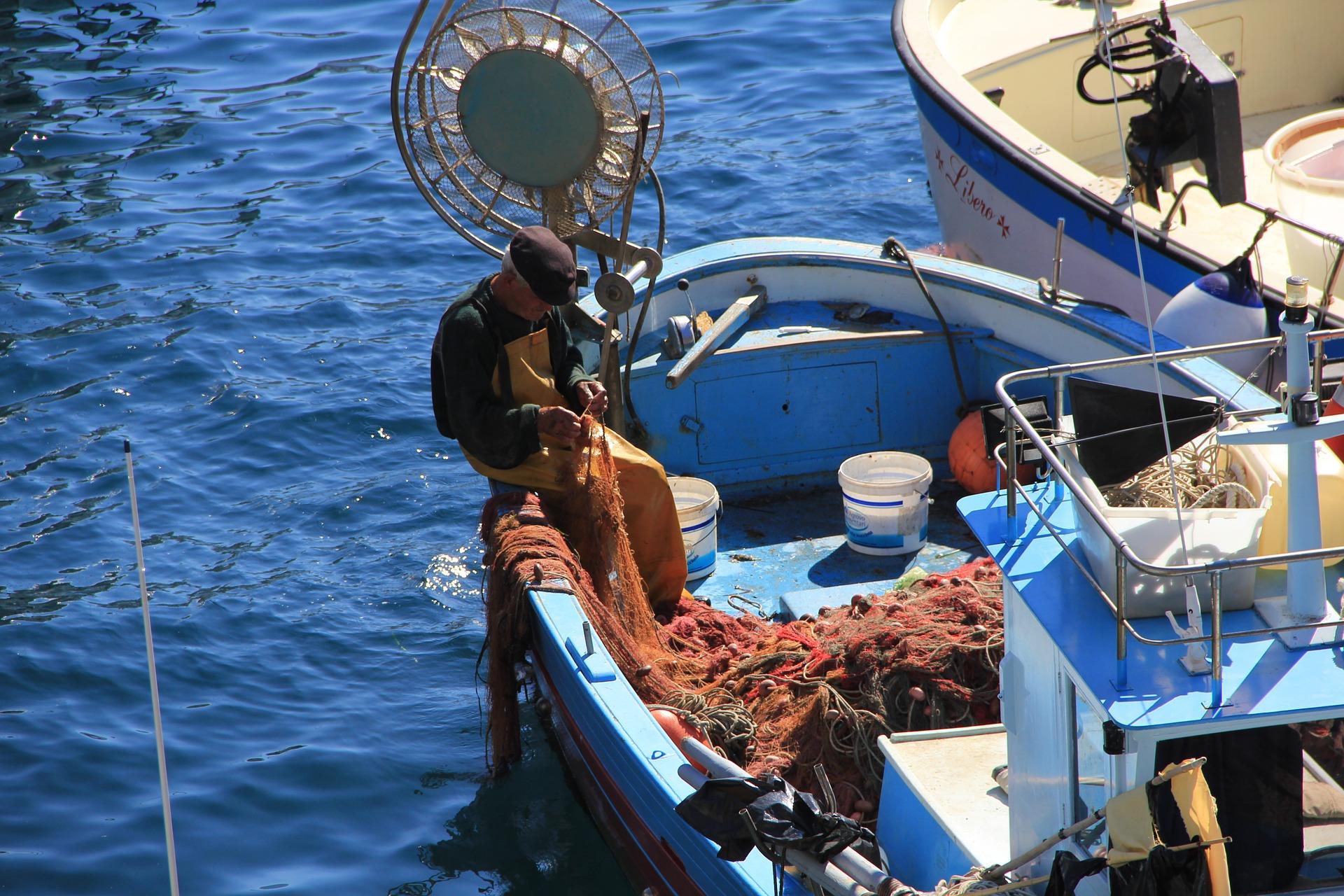Italy sea fishing