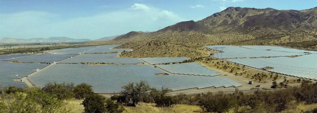 Solar Power Plant: Sol de Loa, located in Antofagasta, Chile